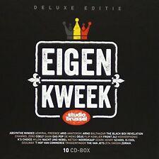 STUDIO BRUSSEL, EIGEN KWEEK, 10 CD DELUXE BOX SET, 200 BELPOP CLASSICS (NEW)
