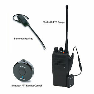 Seecode Bluetooth Headset Set For Radio Of Kenwood Icom Alinco Gme Ebay