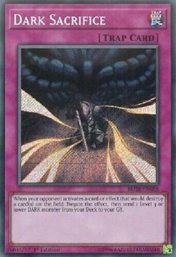 Dark Sacrifice BLHR-EN056 Secret Rare yugioh original konami