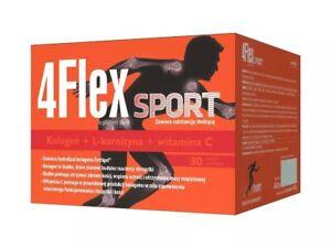 4-Flex-Sport-30-sachets-COLLAGEN-HYDROLYZATE-FORTIGEL-amp-L-CARNITINE