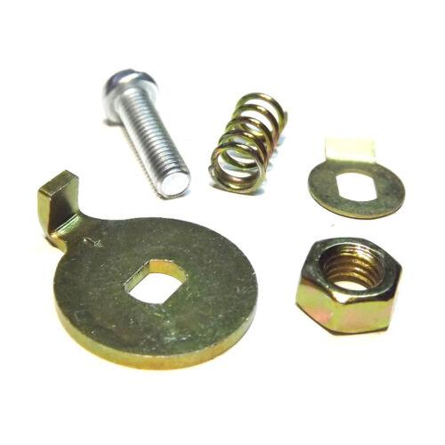 Weber 38//40//45//48 DCOE carburetor linkage throttle stop LEFT SIDE complete set