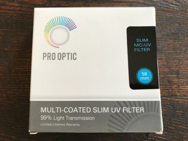 ProOptic 40.5mm Multi Coated UV Ultra Violet Slim Filter