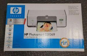 HP Photosmart D5069 Digital Photo Inkjet Printer Brand new sealed Box mint
