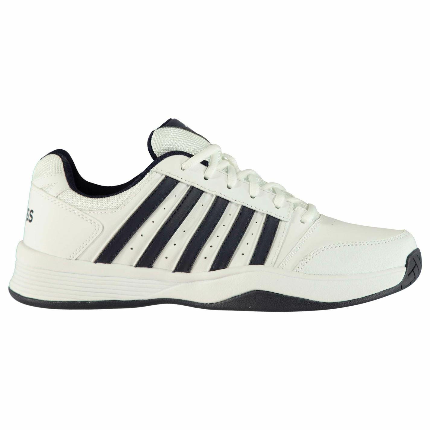 K Swiss Tribunal Tenis Zapatos para hombre Caballeros Ventilado  Smash súperior de cuero ligero  el estilo clásico