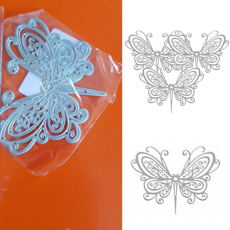1X Metal Cutting Die Butterfly Shape Troquel Flore Cut Embossing Paper Craft DIY