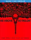 As Above, So Below (Blu-ray/DVD, 2014, 2-Disc Set)