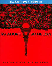 As Above, So Below (Blu-ray/DVD, 2014, 2-Disc Set) New Sealed