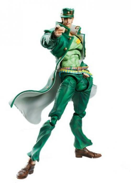 Neu Super Figur Beweglich   JOJO'S Bizarre Abenteuer   Teil III Jotaro Khujo F