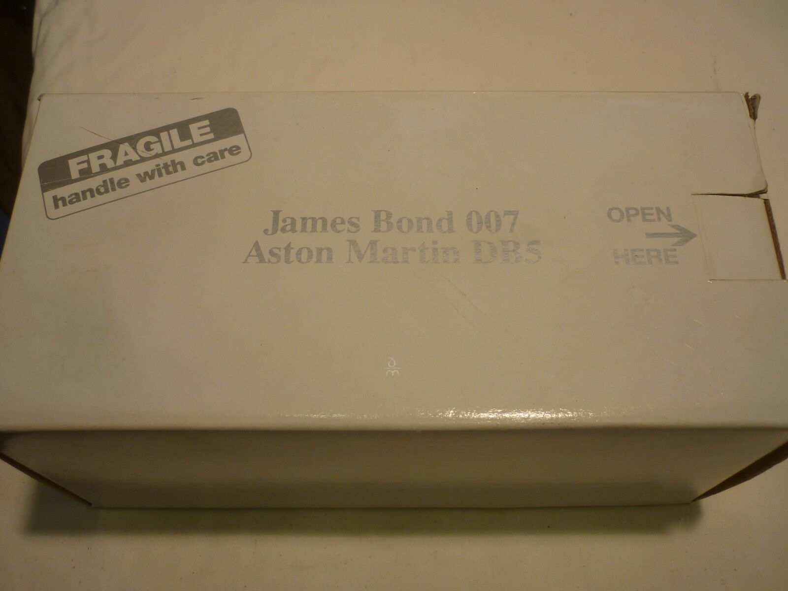 A Danbury mint scale model of James Bond Aston Martin DB5, Boxed   paperwork