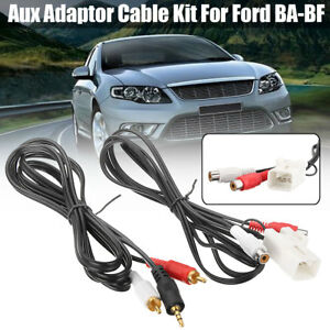 Aux-Auxiliary-Adaptor-Cable-Kit-For-MP3-iPod-CD-For-Ford-BA-BF-Falcon-Territory