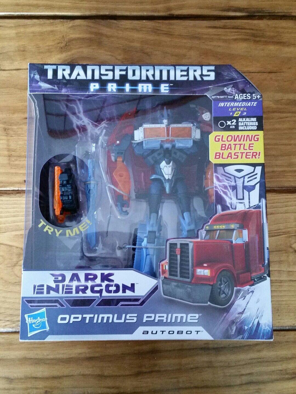 Transformers Prime Nuevo Sellado Dark Energon viaje Optimus Prime Series 002 2012