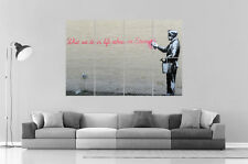 BANSKY What We do in life Wall Art Poster Grand format A0 Large