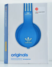 Monster x Adidas Originals Over-Ear Noise Isolation Headphones w/Mic (Blue) NEW