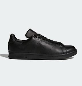 wholesale dealer 23bf4 2ad98 Image is loading Adidas-Originals-Stan-Smith-Shoes-M20327-All-Black-