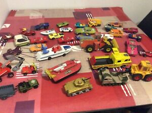 Bundle-Old-Die-cast-Vehicles-Cars-Corgi-Matchbox-Lesney