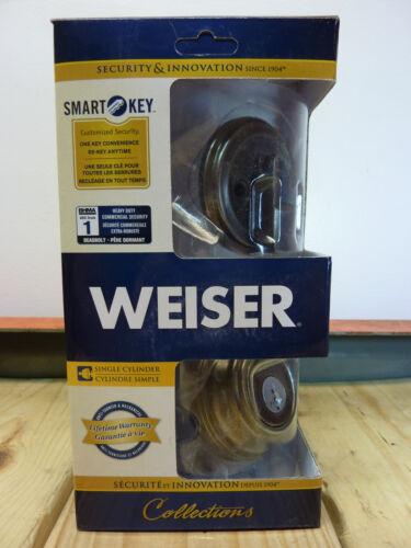 Rustic Pewter ANSI Grade 1 Weiser Collections 9GCD94710-024 Deadbolt