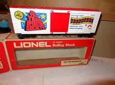 Lionel 9678 TTOS Hollywood Hi-cube Boxcar 1978 Convention Car C10