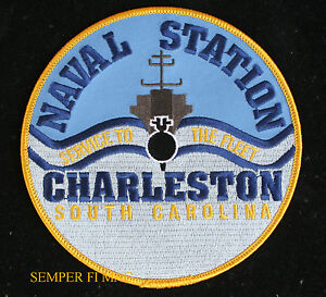 US-NAVAL-STATION-CHARLESTON-SC-PATCH-US-NAVY-VETERAN-BASE-PIN-UP-USS-GIFT-WOW