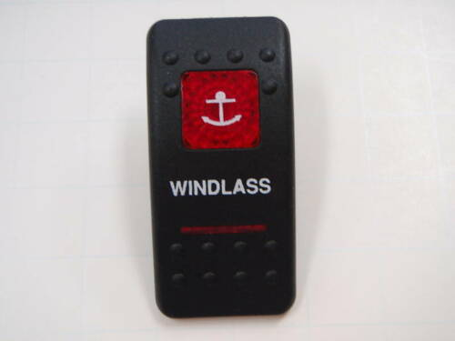 CONTURA WINDLASS SWITCH VIDI  SCREENED 2RED LENS V1D1 V1D1G66B ON//OFF POWER