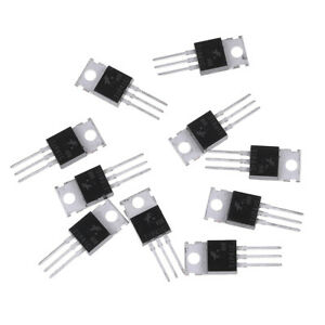 10Pcs-Tip41C-Tip41-Npn-Transistor-To-220-New-And-High-Quality-GF