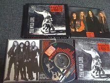 Slaughter / The wild life  /JAPAN LTD CD OBI slipcase, book