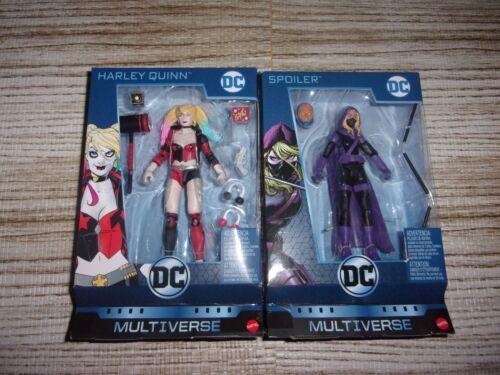 DC Multi-univers Harley Quinn /& spoiler Scellé lot de 2 figurines