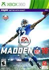 Madden NFL 16 Xbox 360 Brand New Factory Sealed
