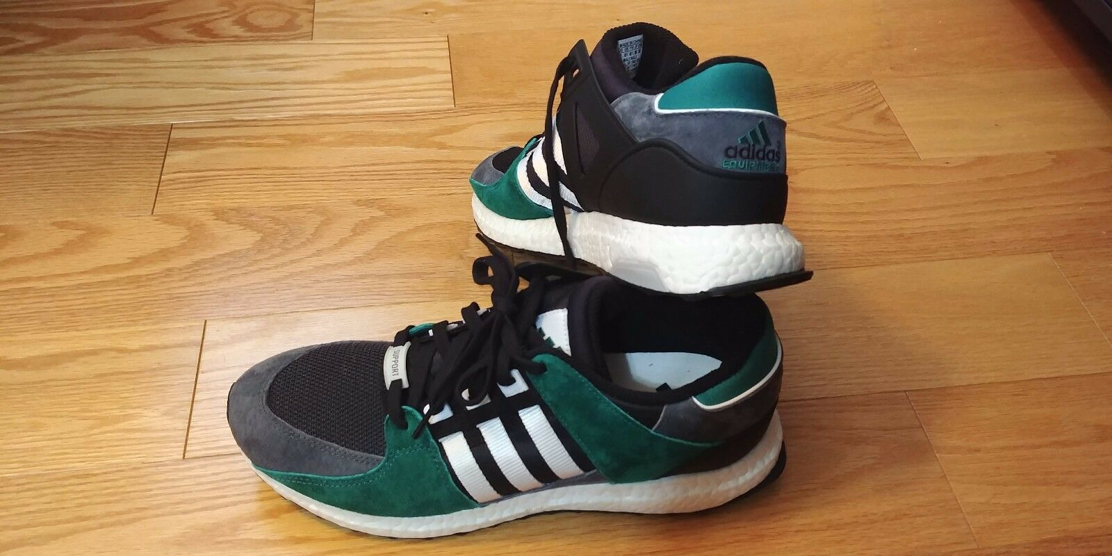 ADIDAS EQT MEN'S SIZE 11 SUB GREEN 93 16  S79923 BOOST SHOES NEVER WORN