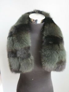 100%Real fox fur collar/ wrap /scarf /cap collar new ma