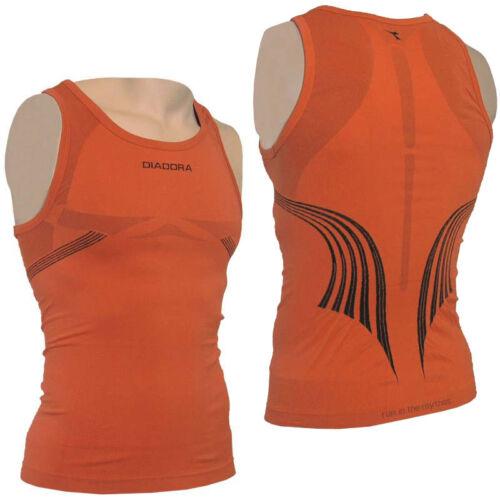 2er Set Diadora Réservoir Canotta Messieurs course shirt Entraînement Shirt Fitness Top 14373