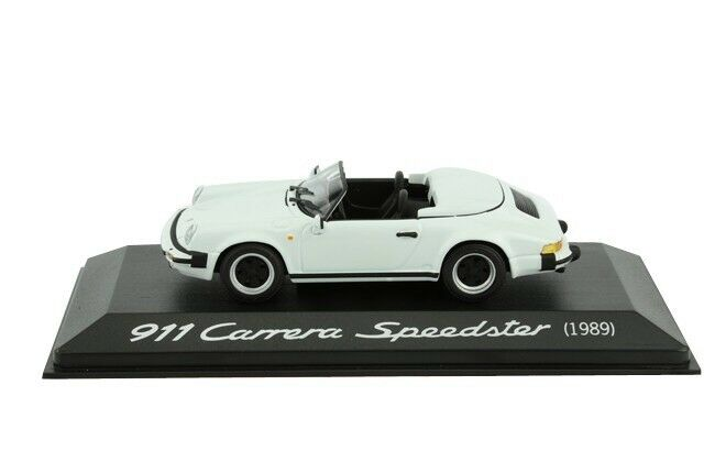 RARE PORSCHE 911 CARRERA 1989 SPEEDSTER WHITE 1 43 MINICHAMPS MINICHAMPS MINICHAMPS (DEALER MODEL) 54bb37