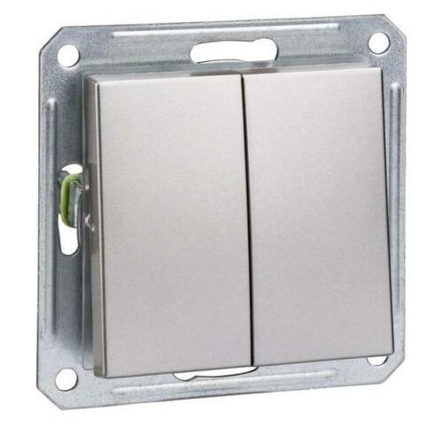Elso Doppel-Wechselschalter ELG3616611 IP20 weiß Installationsschalter
