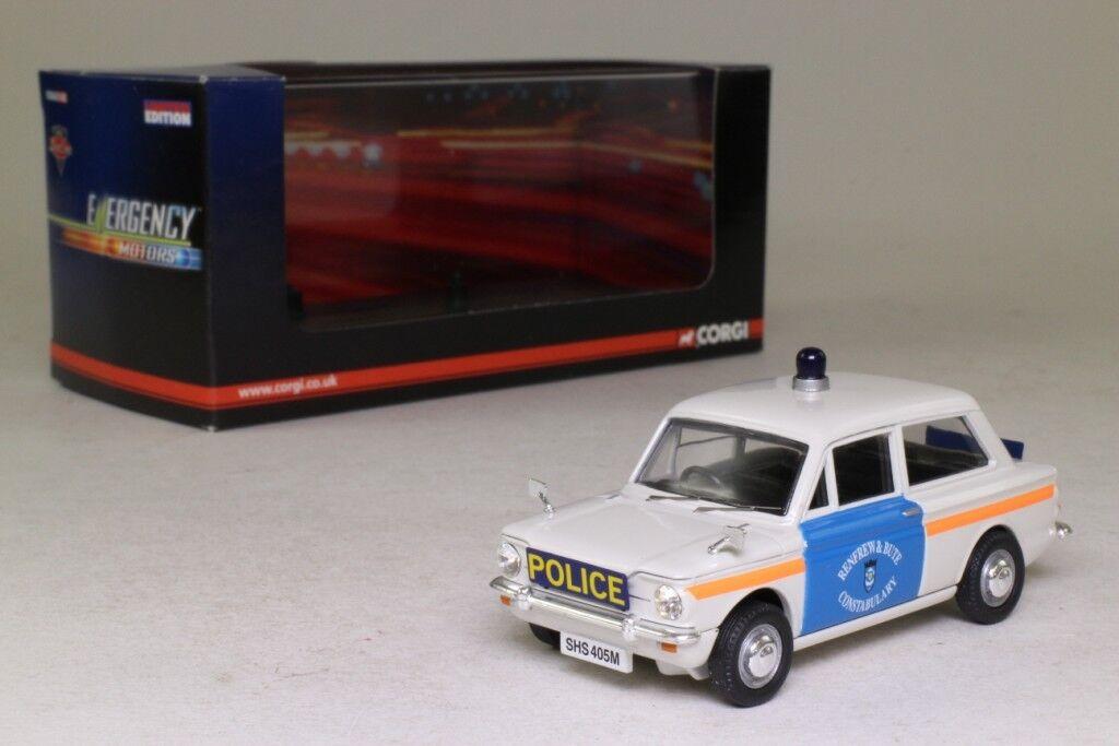 HILLMAN IMP RENFREWSHIRE & BUTE POLICE VANGUARDS 1 43 VA02621 BRITISH ENGLAND UK