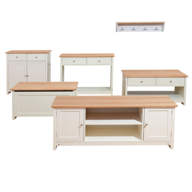 Living Room Furniture Coffee Side Table Tv Stand Cabinet Wood Unit Sideboard Uk