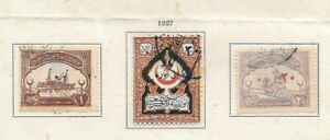 K00-TURKEY-1927-Red-Crescent-Red-Cross-Complete-Set-Used