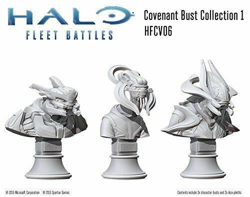 Halo  Fleet Battles - Covenant - Commanders Commanders Commanders & Heroes Collection by Spartan Games 5f8e08