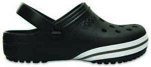 on sale 95c75 6f47b Details about Crocs-JIBBITZ by CROCS Black Sandals Garden Clogs 38/39-41/42  Kilby Black- show original title