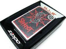 ZIPPO Full Size Satin Chrome SLIPKNOT Goat Head Design Windproof Lighter! 28993
