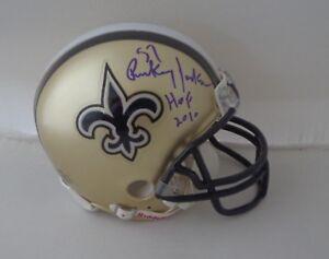 06602f4f4ae Rickey Jackson signed New Orleans Saints mini helmet autographed HOF ...