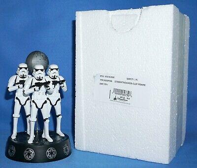Disney Parks Star Wars Stormtrooper Photo Clip Frame NEW SEALED IN STYROFOAM BOX