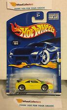 Ferrari F355 #191 * Yellow w/ Rare 5sp Rims * 2001 Hot Wheels * K20