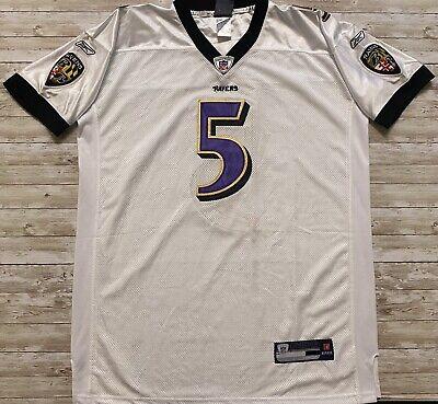 Baltimore Ravens Joe Flacco Jersey #5 NFL Reebok On Field Size 48 Stitched NEW   eBay