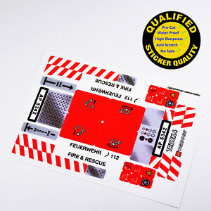 CUSTOM-sticker-for-LEGO-8289-Fire-Truck-Technic-Premium-quality