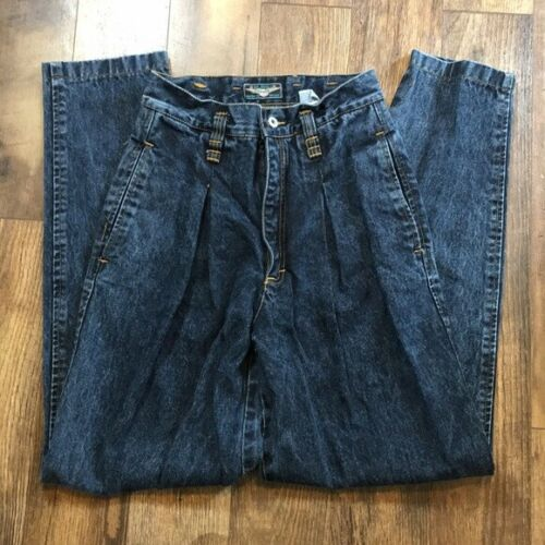 Vintage Jordache No Exit Pleated Jeans Men's Sz 34