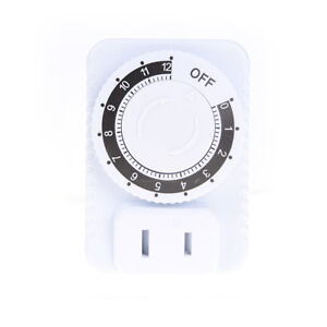 12-Hour-Timer-Siwtch-Electrical-Mechanical-Time-Wall-Plug-Switch-Timer-Socket-FE