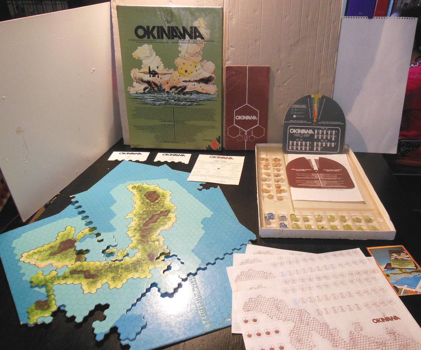 OKINAWA Simulation Game W 105 WWII II° Guerra Mondiale International Team 1979