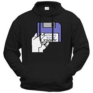 dischetto Hoodie Il Retro Gaming del Amiga meglio Getshirts w4qt1fq