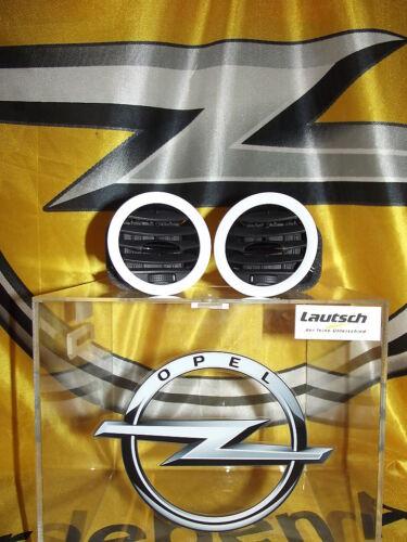 Original Opel Corsa D Adam Lüftungsgitter Gehäuse Lüftung weiß 13417357 NEU!!!