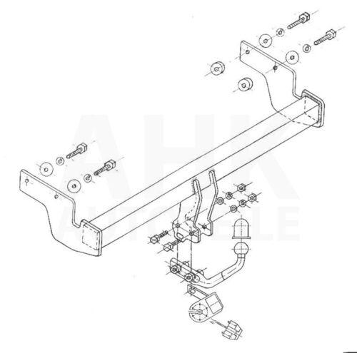 Hyundai Getz Anhängerkupplung starr+ES 7p ABE