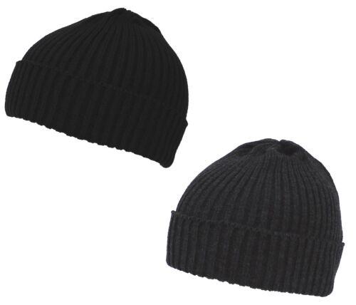 Cappello Rotondo Inverno Berretto Lavorato a Maglia di Lana Beanie Corto Nuovo